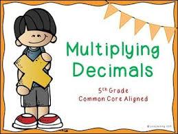 multiplying decimals lesson this 115 slide powerpoint presentation