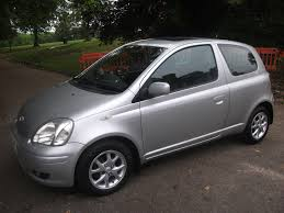 used toyota yaris automatic for sale motors co uk