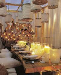 entertaining outdoor dinner home decoration ideas for a crowd