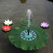 Solar Lights For Ponds by Floating Solar Fountain Promotion Shop For Promotional Floating