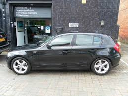 black bmw 1 series used bmw 1 series 2007 black edition petrol 120i se 5 door