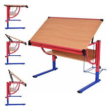 Rolling Drafting Table Promo Costway Adjustable Drawing Desk Rolling Drafting Table
