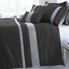 Black Duvet Covers Black U0026 Silver Colour Shimmering Diamante Modern Luxury Duvet