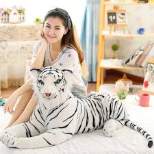 cute plush white tigers stuffed animals plush doll beanie boo ty