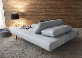 recast plus sleeper sofa bed dark styletto legs and matt black