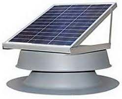 how to vent your attic with a solar attic fan