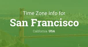 Time Zone Map Usa by Daylight Saving Time Dates For Usa U2013 California U2013 San Francisco