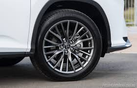 lexus f sport rims 2016 lexus rx 450h f sport review video performancedrive