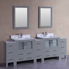 Vanity With Carrera Marble Top 96