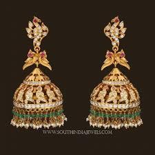 big jhumka gold earrings the 25 best jhumka designs ideas on