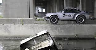rally porsche 911 a porsche 911 you can drive through a of mud could be