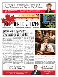 kitchener citizen east edition march 2017 by kitchener citizen