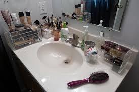 Makeup Bathroom Storage My Makeup Collection New Storage Muji 5 Drawer Acrylic