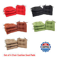 Dining Room Chair Cushions With Ties Patio U0026 Garden Furniture Cushions And Pads Ebay