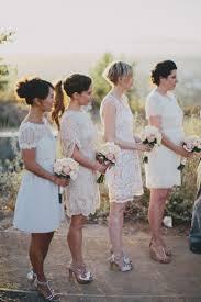 best 25 white bridesmaid dresses short ideas on pinterest white