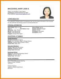 resume writing format pdf 11 resume sles philippines resume emails