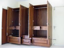 bedroom delightful armoire wardrobe with 3 doors for home