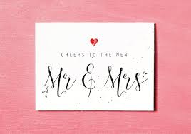 wedding gift card mr mrs printable wedding card congratulations and