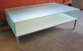 frosted glass coffee table glass coffee tables glass coffee table