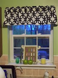 valance ideas for kitchen windows kitchen creative kitchen window treatment decoration using