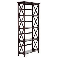 home decorators bookcase home decorators collection montego 295 in w high 4 shelf x bookcase