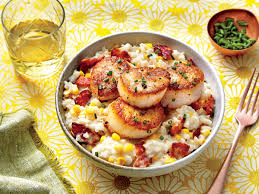rice cuisine rice with scallops recipe southern living