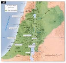 Gennesaret Map Timeline 10bc 110 Ad New Testament