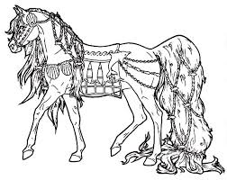 carousel horse coloring pages print coloring pages ideas