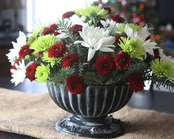 how to make a christmas floral table centerpiece make three beautiful christmas flower arrangements including a
