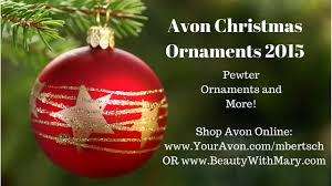 avon ornaments 2015