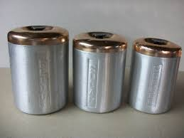 Brown Canister Sets Kitchen by Vintage Kitchen Canister Sets Gallery And Decorative Canisters