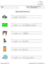 primaryleap co uk handwriting objects in the classroom 2