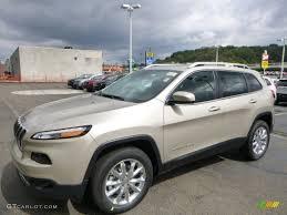 jeep cherokee 2015 2015 cashmere pearl jeep cherokee limited 4x4 97323233 gtcarlot
