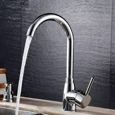 Chrome Kitchen Sink Bathroom Bathtub Faucet Solid Brass Chrome Kitchen Basin Sink