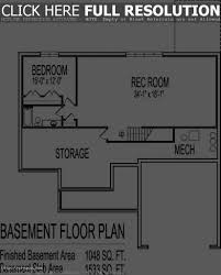 homes with finished basement floor plans basement decoration