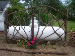 trellis off back of house google search inconspicuous propane