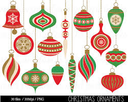 christmas clipart christmas decoration ornament balls hanging