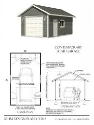 1 5 Car Garage Plans Photo Album One Car Garage Plans All Can Download All Guide And