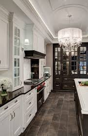 white kitchen cabinets black tile floor wood floor kitchen ideas excellent beautiful kitchen