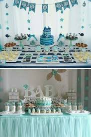 baby shower decorations boys 15 baby shower ideas for boys blue ombre boy baby showers and ombre