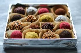 date gifts edible christmas new years gifts chocolate and date truffles
