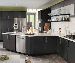 Grey Cabinets In Kitchen Dark Grey Cabinets Storm Maple Cabinet Finish Kemper