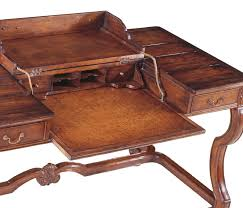 country style walnut extending desk large
