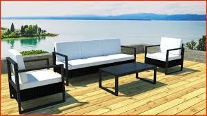 canape jardin aluminium salon jardin alu best of awesome salon de jardin aluminium noir