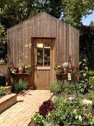 greenhouse w lath facade robinson estate via brooke giannetti