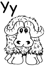 the letter a coloring page trace the words that begin with the letter y coloring page free