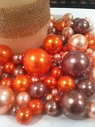pearl vase fillers fall color pearls vase bowl fillers light coral orange cocoa