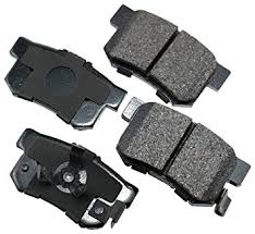 honda crv brake amazon com akebono act1086 proact ultra premium ceramic rear