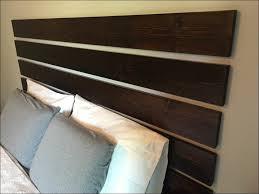 Headboard Nightstand Attached Bedroom Magnificent Floating Queen Headboard Headboard