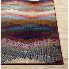 loft multicolor area rug u0026 reviews allmodern